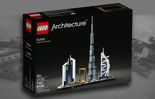 Lego Architecture Dubai Set