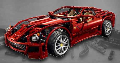 Lego Ferrari Investment Set