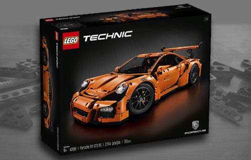 Lego Porsche Investing Set