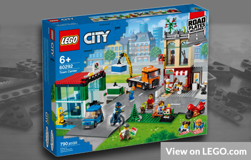 Lego City Town Center Set