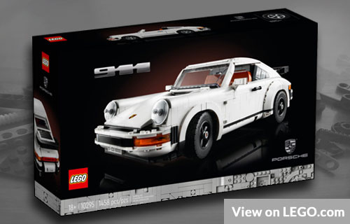 Lego Creator Expert Porsche 911 2021