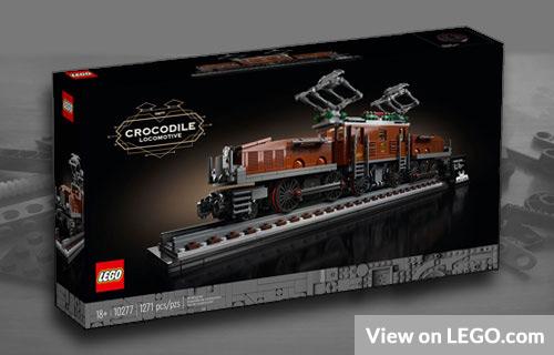 Lego Vintage Train Set to Invest