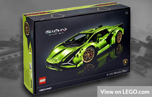 Big Lego Lamborghini Set
