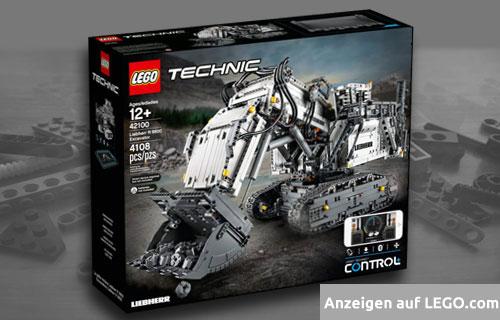 Lego Technic Liebherr R 9800 Bagger