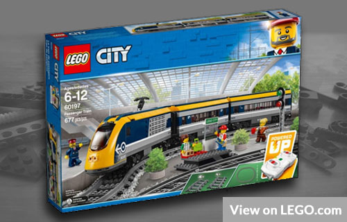 Lego Passenger Train