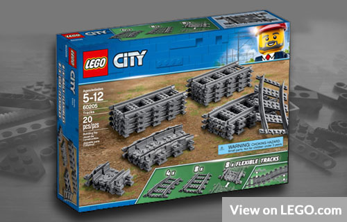 Lego City Tracks