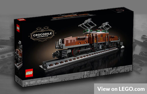 Lego Crocodile Locomotive